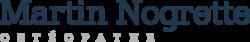 Martin Nogrette Oestéopathe Logo